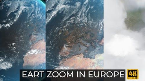Erdzoom in Europa