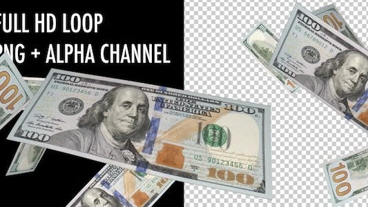 Thumbnail for Money Vortex - New 100 USD Bills