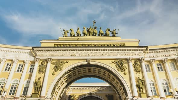 Thumbnail for Arches of the General Staff building, St. Petersburg, Russia