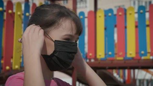 Selbstschutz mit Gesichtsmaske