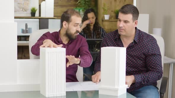 Thumbnail for Young Architect Talking with His Construction Engineer