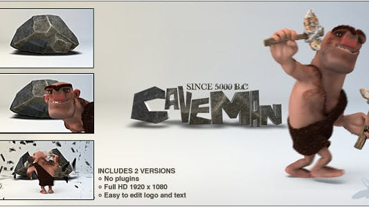 Thumbnail for Caveman Logo