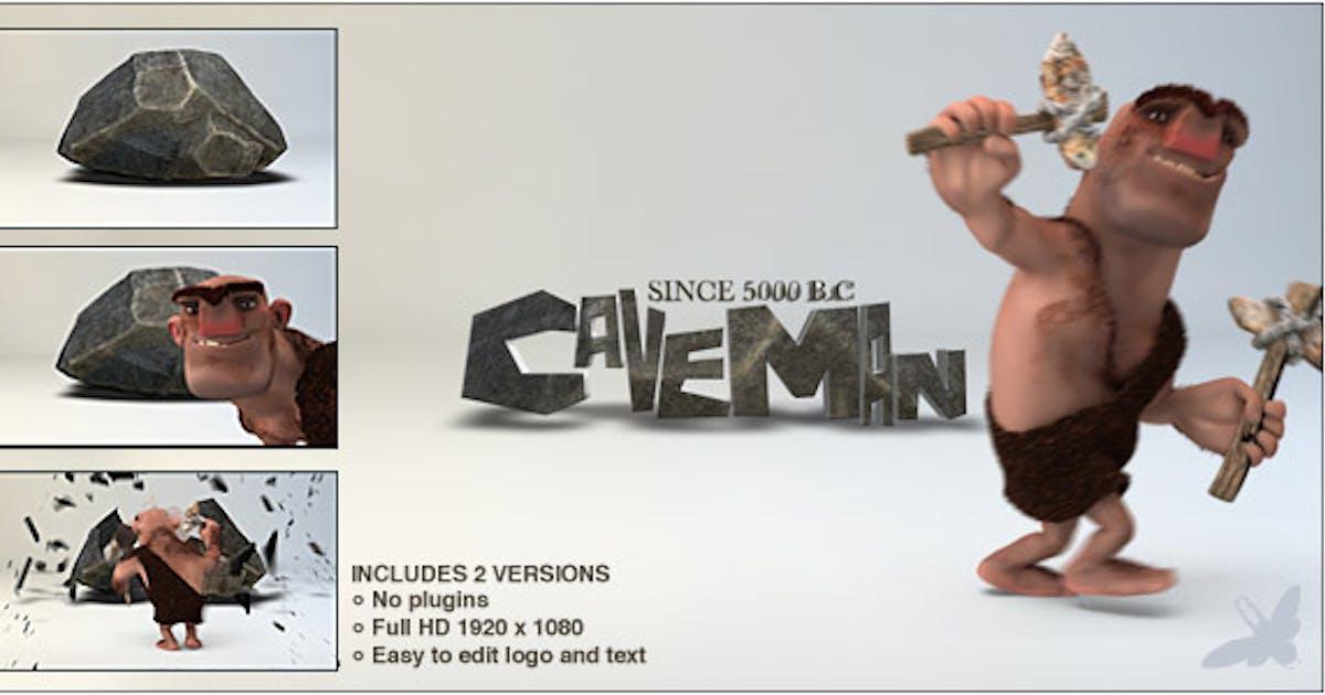 Download Caveman Logo by Ultinato