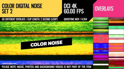 Color Digital Noise (4K Set 2)