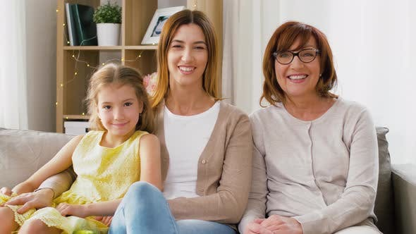 Thumbnail for Portrait of Mother, Daughter and Grandmother