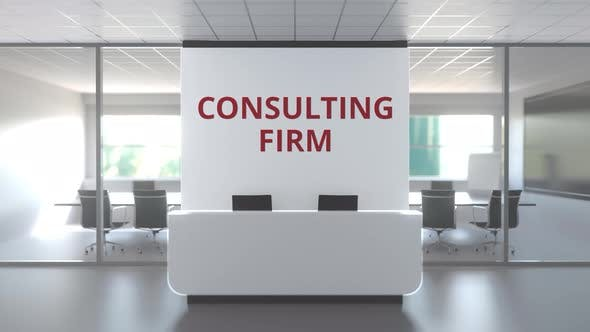 Thumbnail for Modern Office and Reception Desk Af a Consulting Firm