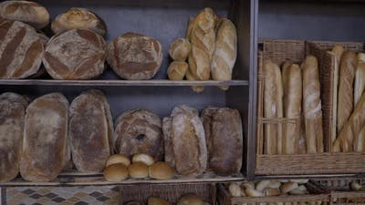 Freshly Baked Bread at a Bakery in Glen Cove Long Island