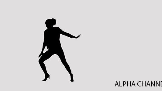 Thumbnail for Silhouette of a Dancing Girl 2