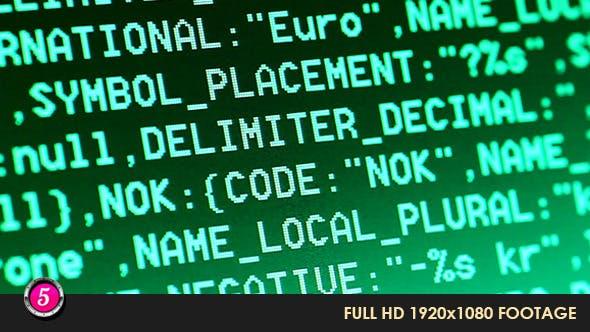 Thumbnail for Computer HTML Codes 7