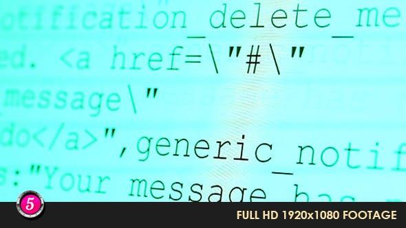 Thumbnail for Computer HTML Codes 8