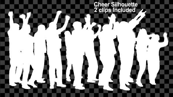 Thumbnail for Cheer Silhouette