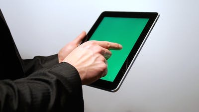 iPad Touch Screen
