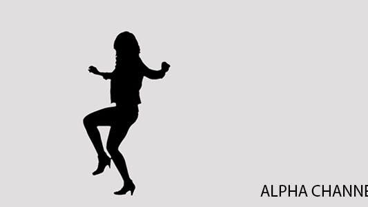 Thumbnail for Silhouette of a Dancing Girl 5