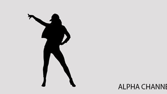 Thumbnail for Silhouette of a Dancing Girl 6