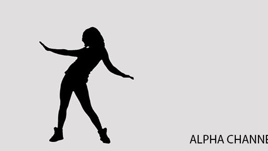 Thumbnail for Silhouette of a Dancing Girl 7