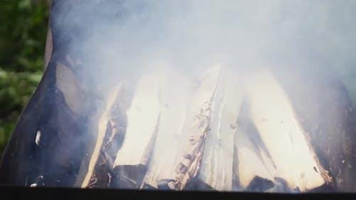 Hard Smoke in Braizer