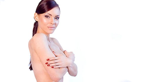 Attractive Undressed Woman Posing