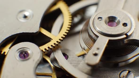 Thumbnail for Uhrwerk alte mechanische Uhr