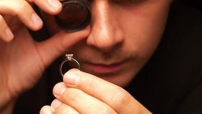 Man Check Ring