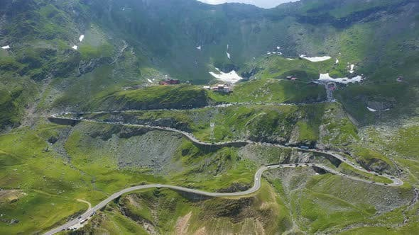 Thumbnail for View Of Famous Romanian Road Transfagaras 13