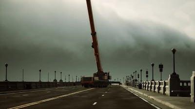 High Way Bridge Under Construction