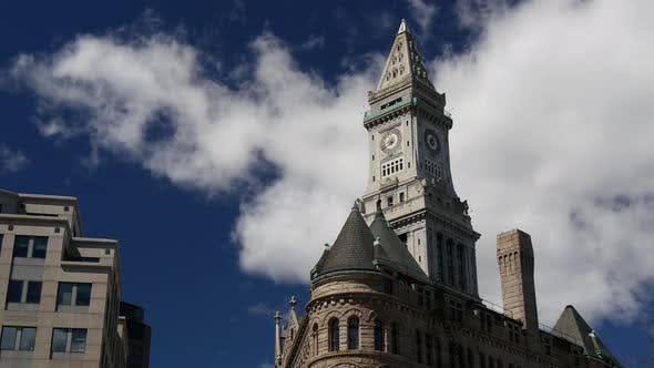 Cover Image for Time lapse from the Custom House Tower in Boston