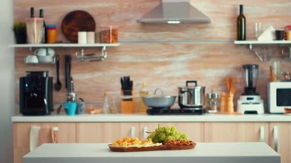 Thumbnail for Leere moderne Küche