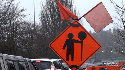 Thumbnail for Rain - 12 - Road Traffic & Construction Sign