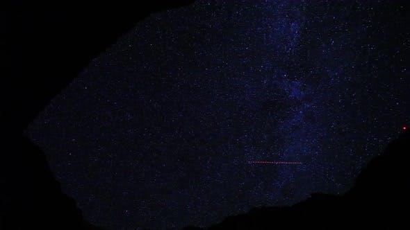 Thumbnail for Canyon Night Sky Stars