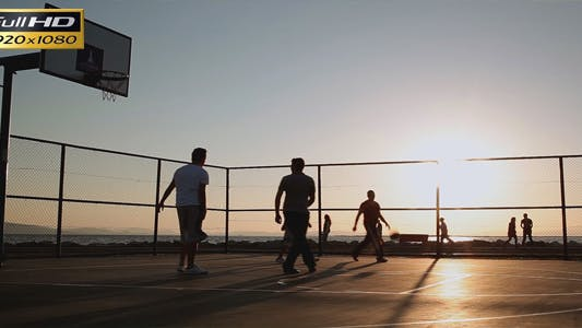 Thumbnail for Basketball  In The Sunset