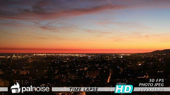 Thumbnail for City Sunset Landscape