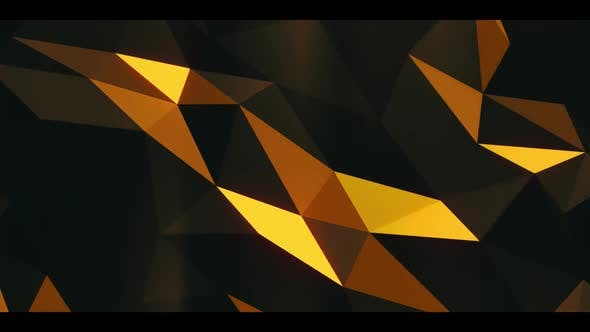 Thumbnail for Gold Geometry Widescreen