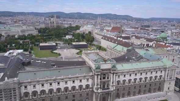 Thumbnail for Vienna City Skyline Aerial Shot. AERIAL View of Vienna. Cathedrals and Cityscape City of Vienna