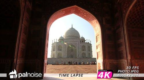 Taj Mahal Door India