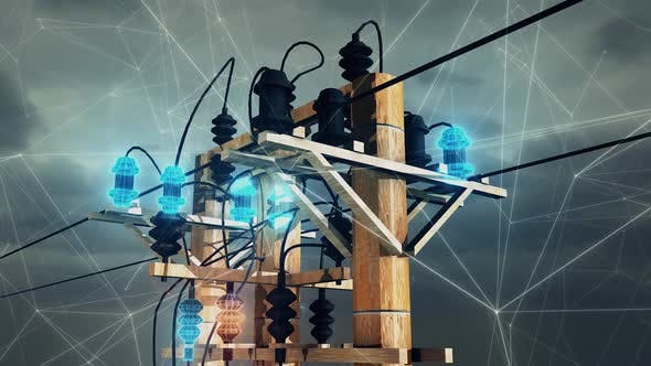 Electric Power Lines Hd