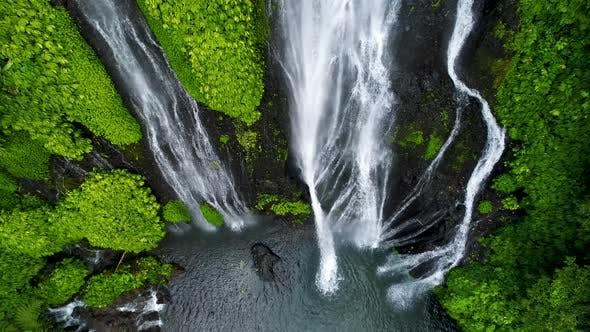 Thumbnail for Beautiful Tropical Waterfall in Bali, Indonesia