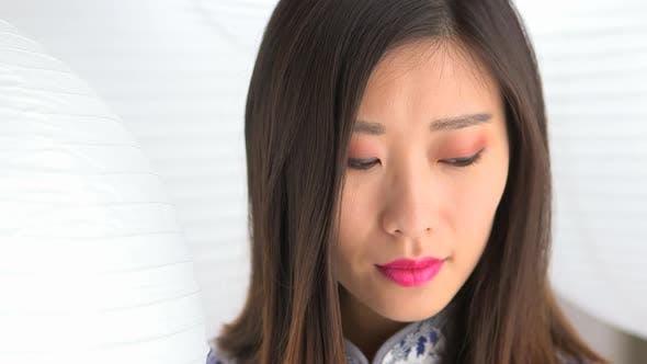Thumbnail for Nahaufnahme der chinesischen Frau