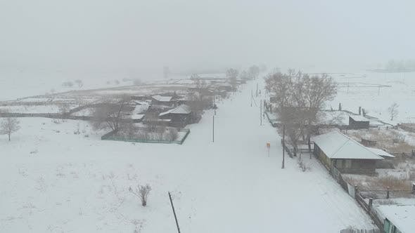 Cover Image for Russian village Winter