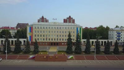 The Building of the City Council of the City of Ufa Bashkortostan
