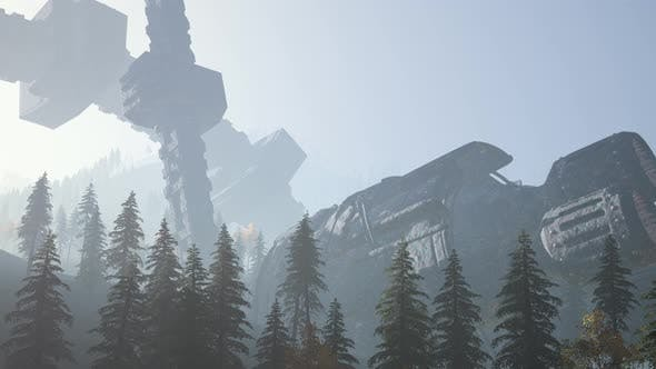 Thumbnail for UFO Crashed in the Forest
