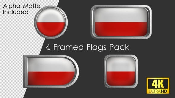 Thumbnail for Framed Poland Flag Pack