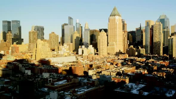 Thumbnail for Urban Cityscape Scenery of Corporate Business District