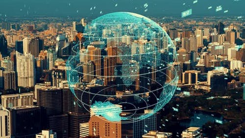 Global connection and the internet network modernization in smart city