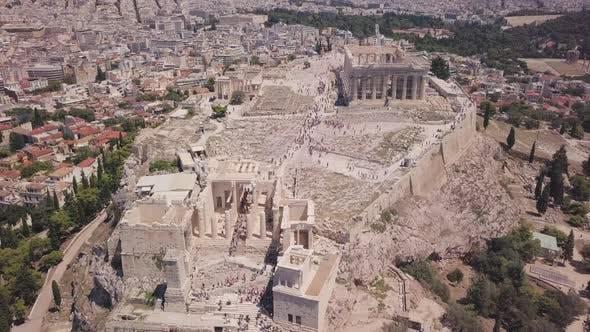 The Parthenon Greek Acropolis