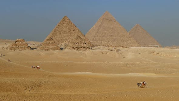 Thumbnail for Great Pyramids at Giza Cairo in Egypt