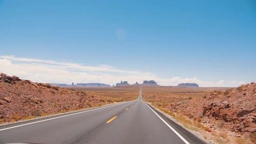 Amerikanische Road-Trip