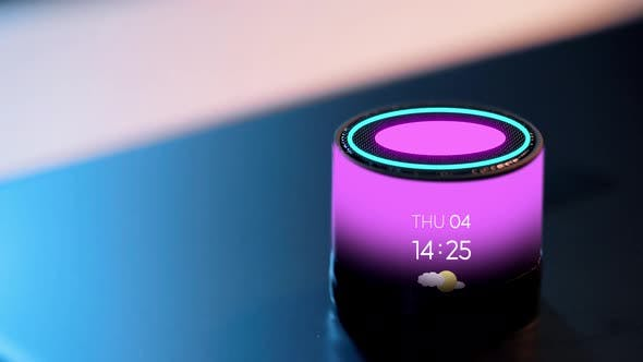 Thumbnail for Smart Speaker with Date, Time and Day of Week 8