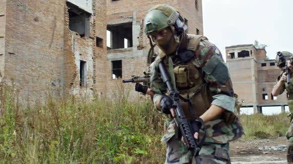 Thumbnail for Team of Soldiers during Military Operation