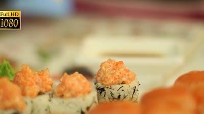 Sushi In The Cafe