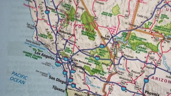 Thumbnail for Road Map Usa 5, Slider Shot